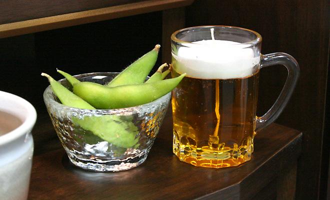 ビール枝豆