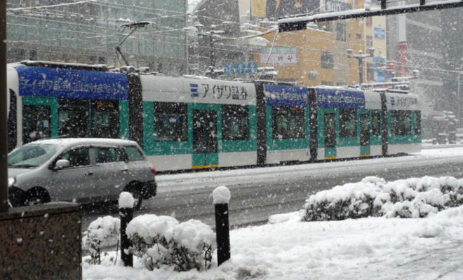 広島市内電車