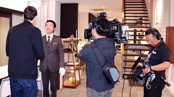 NHK取材1